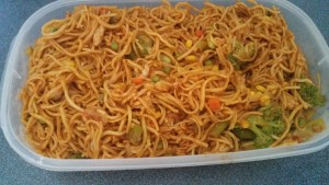 How to make chow mein 6