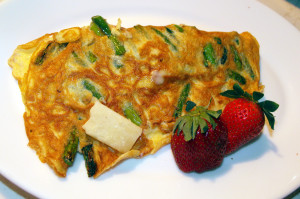 How to make Cheesy omelet
